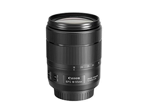 Canon EOS 80D EF-S 18-135mm f/3.5-5.6 Image Stabilization USM Kit (Black)