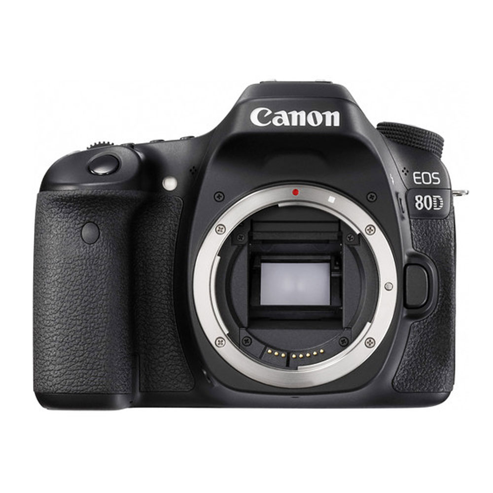 Canon EOS 80D EF-S 18-135mm f/3.5-5.6 Image Stabilization USM Kit (Black)